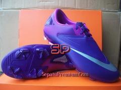 NIKE-MERCURIAL-GLIDE-II FG-Purple-Silver