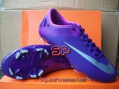 NIKE-MERCURIAL-VICTORY-II FG-Purple-Silver