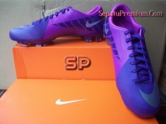SEPATU BOLA-NIKE-MERCURIAL-VICTORY-II FG-Purple-Silver