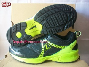 SEPATU-LEAGUE-JAZZ-M-Black-Green-Silver