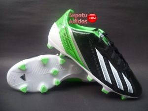 ADIDAS F10 TRX FG Black-White-Green