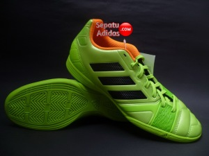 ADIDAS NITROCHARGE 3.0 INDOOR Slime-Black-Zest