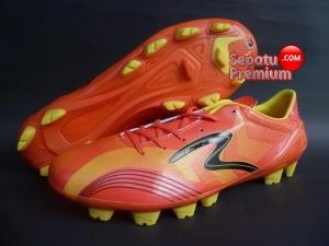 SEPATU SPECS ACCELERATOR MUSTANG Red-Orange-Yellow