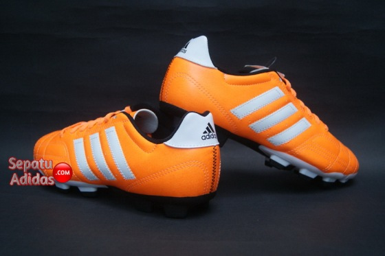 ADIDAS GOLETTO IV TRX FG Solzes-White-Black-backheel
