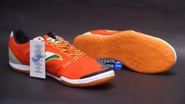 JOMA SUPER FLEX 408 ORANGE-WHITE INDOOR-outsole