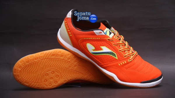 JOMA SUPER FLEX 408 ORANGE-WHITE INDOOR