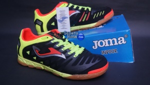 JOMA SUPER REGATE 401 BLACK-FLUOR INDOOR-boxed