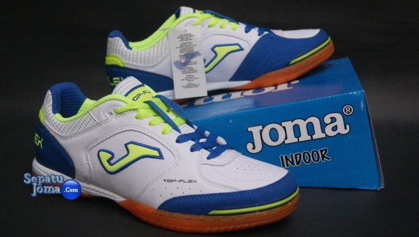 JOMA TOP FLEX 405 WHITE-ROYAL INDOOR-boxed