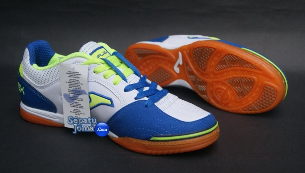 JOMA TOP FLEX 405 WHITE-ROYAL INDOOR-outsole