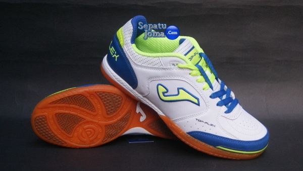 JOMA TOP FLEX 405 WHITE-ROYAL INDOOR