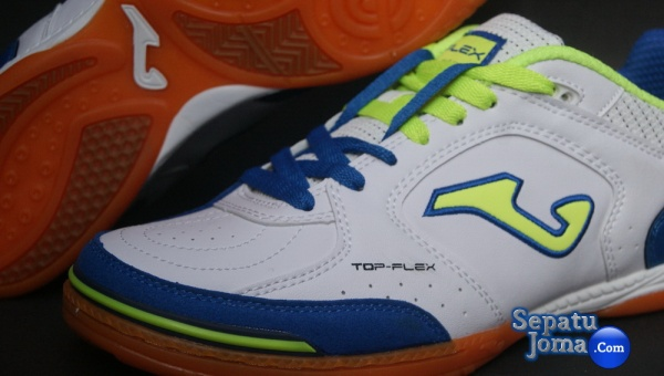 JOMA TOP FLEX 405 WHITE-ROYAL INDOOR1