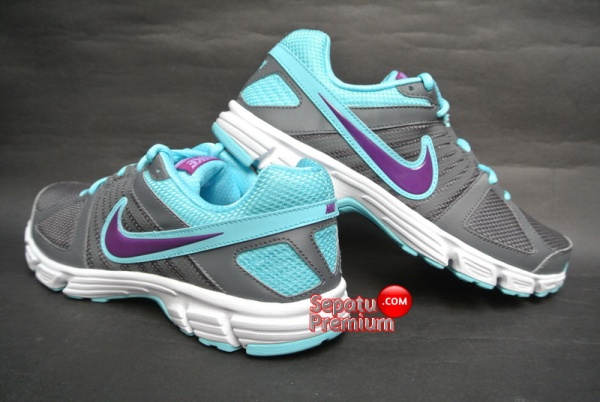 NIKE WOMENS DOWNSHIFTER 5 MSL Grey-Grape-Volt-White