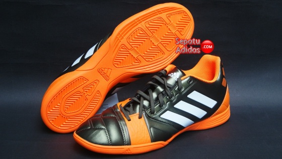 SEPATU FUTSAL ADIDAS NITROCHARGE 3.0 IN Earth.Green-White-SolZes