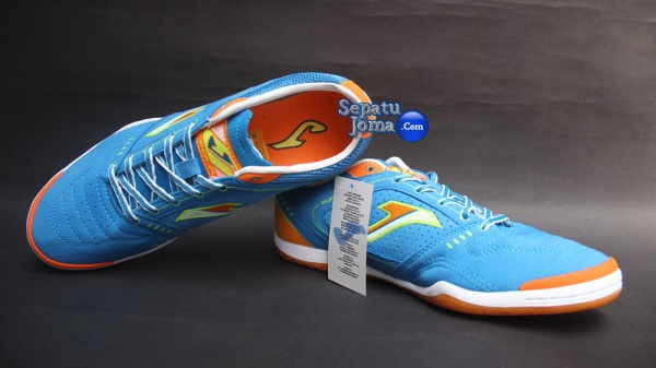 SEPATU JOMA SUPER FLEX 405 ROYAL-ORANGE INDOOR
