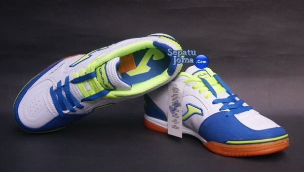 SEPATU JOMA TOP FLEX 405 WHITE-ROYAL INDOOR