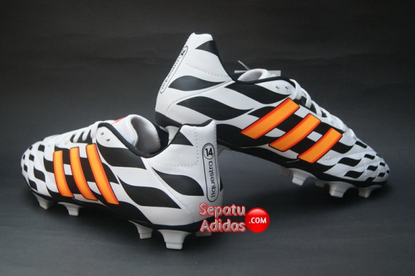 ADIDAS 11QUESTRA FG WORLD CUP 2014 White-Orange-Black-back
