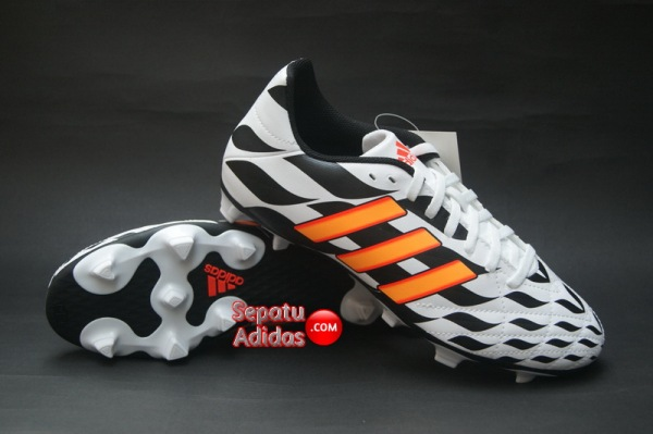 ADIDAS 11QUESTRA FG WORLD CUP 2014 White-Orange-Black