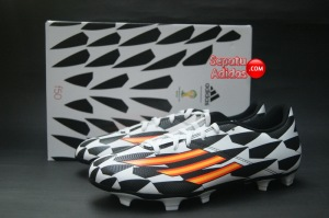 ADIDAS F5 FG WORLD CUP 2014 White-Orange-Black-boxed