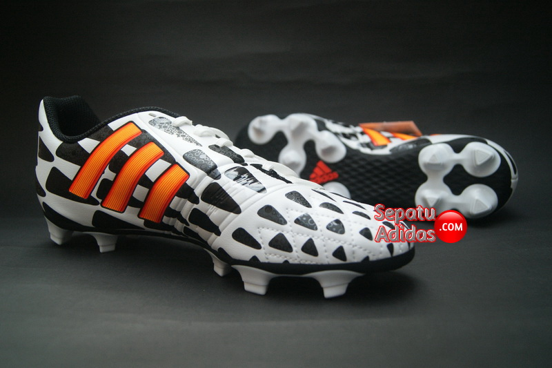 ADIDAS NITROCHARGE 30 FG WORLD CUP 2014 White Gold Black
