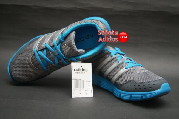 SEPATU ADIDAS BREEZE 101 M Tech.Grey-Dark.Onix-Solar.Blue