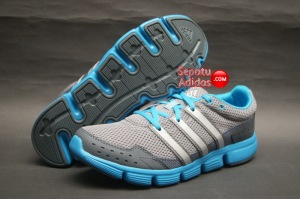 SEPATU RUNNING ADIDAS BREEZE 101 M Tech.Grey-Dark.Onix-Solar.Blue