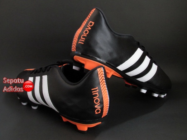 ADIDAS 11NOVA FG Black-White-Orange SHOES