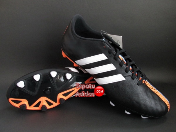 ADIDAS 11NOVA FG Black-White-Orange