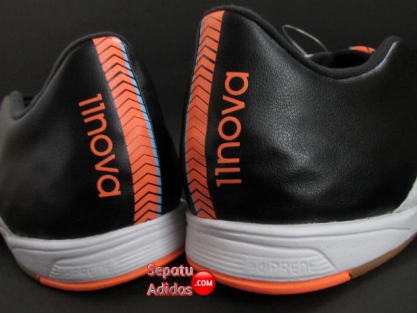ADIDAS 11NOVA IN Black-White-Orange HEEL