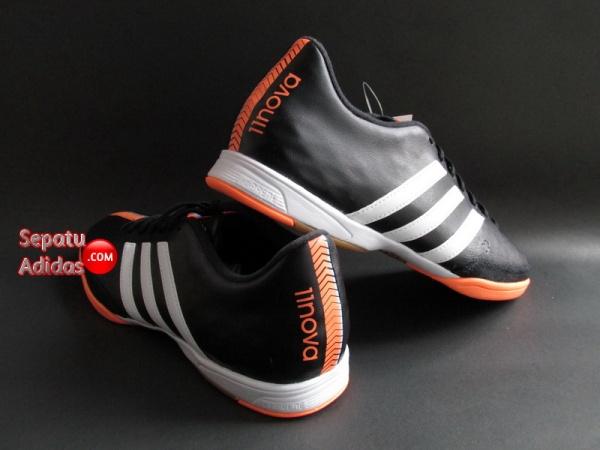 ADIDAS 11NOVA IN Black-White-Orange SHOES