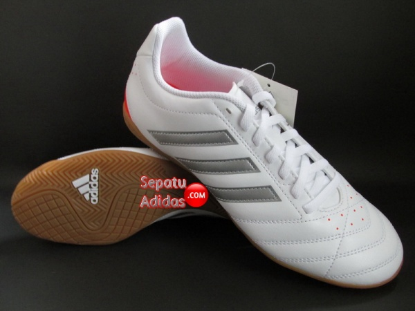 ADIDAS GOLETTO V IN White-Silver-Red