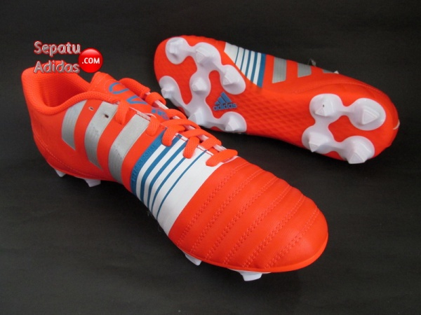 ADIDAS NITROCHARGE 4.0 FG Red-Silver-White 2015