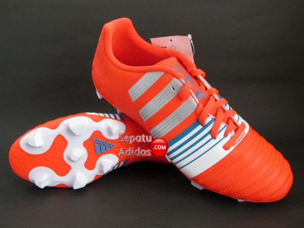ADIDAS NITROCHARGE 4.0 FG Red-Silver-White