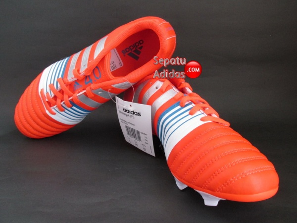 ADIDAS NITROCHARGE 40 FG Red Silver White