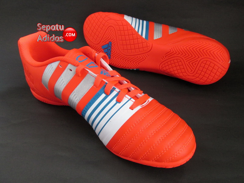 ADIDAS NITROCHARGE 40 IN Red Silver White