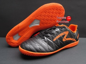 SEPATU SPECS OPTIMUS IN BLACK-SPIRIT.ORANGE