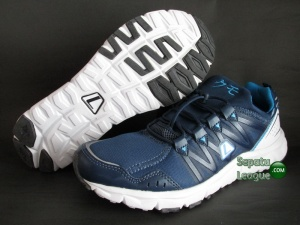 SEPATU RUNNING LEAGUE KUMO M Denim-Blue-White
