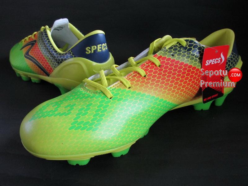 SEPATU SPECS ESCALA FG Yellow-GreeN 2015