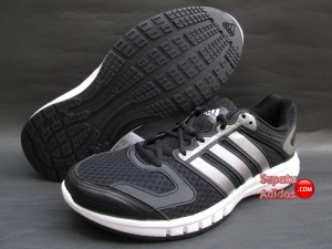SEPATU RUNNING ADIDAS GALAXY M Black-Iron.Metallic-White