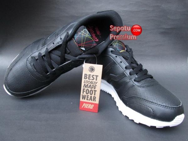 SEPATU PIERO ROCKER Black-Red-White 2015